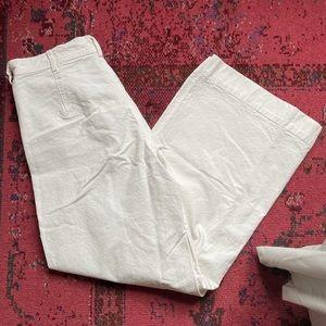 White Kamm pant
